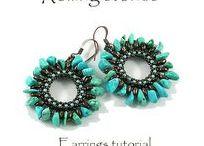 My Beading Tutorials / DIY, tutorial, Beading tutorial, beaded bracelet, beaded ring, beaded necklace, beaded pattern, beading stitch,