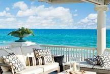 Beach houses & decoration! / I want a house on a beach sooooo much .... / by Sonia Vasseur