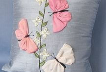Szalaghímzés - Ribbon embroidery