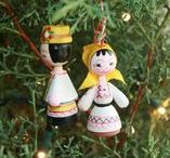 Holiday Christmas Ornaments / The best Christmas ornament decoration ideas all in one place.   Start planning your holiday decor in this board.