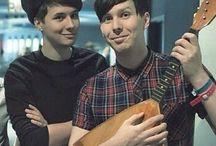 Dan and phil / My smol beans