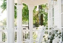 Decorating Porches / The best home porch decorating ideas all in one place.   Start planning your next project on this board.