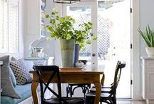 Decorating Dining Rooms / Design and decorating ideas and tips to inspire.