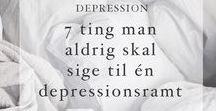 DET DEPRESSIVE HJØRNE
