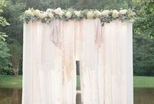 """DIY Wedding Ceremony Ideas / Make your """"I do"""" even more special by surrounding yourself with gorgeous decorations and details. These DIY wedding ideas serve as wedding inspiration as well as actual projects that you can incorporate in your nuptials."""