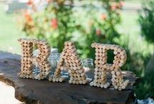 Wedding Reception Ideas / These DIY projects will really liven up your wedding reception! From bar ideas to DIY centerpieces, chair coverings to table-toppers, these DIY wedding reception ideas will make your wedding one to remember!