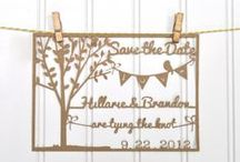Wedding Save the Date Ideas / Get creative with your save the dates and check out some of these great DIY ideas! From save the date cards to save the date magnets, save the date postcards to save the date invitations, your wedding guests will love the effort you put into making any one of these homemade DIY save the date ideas.