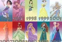 Disneyoskie inspiracje