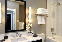 Bathroom / Bathroom colour schemes, decor and layout.