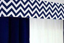 Window dressings / Pelmets, curtains & blinds