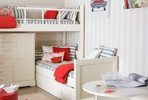 Boys' Bedroom / Decor & storage ideas