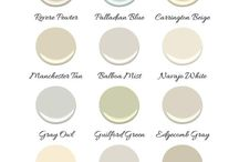 Paint Colours / Colours for the hall.