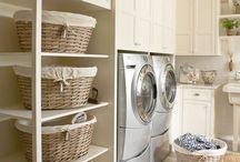Laundry Room / Laundry room decor and storage ideas