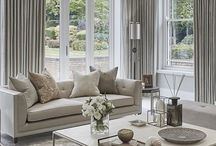 Living Room / Living room decor colour schemes and layout ideas