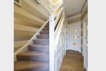 Hallway / Hallway colour schemes and decor.