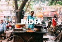 India / Travel inspiration board for India. Travel off the eaten path with us at www.travelingspoon.com
