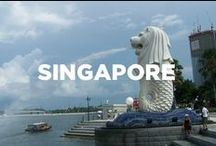 Singapore / Travel inspiration board for Singapore. Travel off the eaten path with us at www.travelingspoon.com