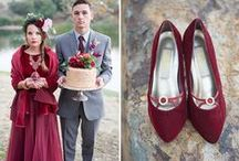 Marsala Wedding Theme / A board dedicated to Pantone's 2015 color of the year! Perfect for fall or winter nuptials.