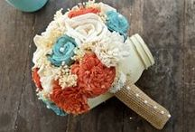 Most Popular Wedding Colors of 2015: Coral, Turquoise, and Burlap / A board dedicated to what we can expect from weddings happening in the summer of 2015!