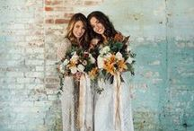Emerald, Oak, Copper, and Cream: Most Popular Wedding Colors of 2015: / A board dedicated to the rustic wedding trends of 2015!