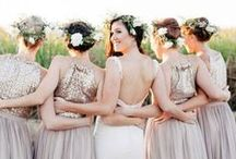 Bridesmaid and Maid of Honor Resources / Being a bridesmaid or MOH isn't all just fun and games. There are a lot of responsibilities that come with the title. Find out how to throw a shower or bachelorette party and even how to nail your speech at dinner.