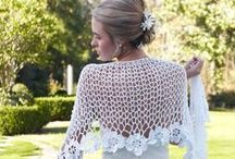 Crochet Wedding Patterns / There's nothing better than a free crochet pattern...except perhaps a free crochet pattern for a wedding! Here you'll find DIY reception ideas, crochet shawl patterns, and even a crochet cake topper!