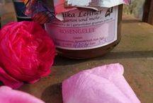 alles Rosen / Rosendekoration, Rosenrezepte, Rosensorten, ein Traum von Rosen ...