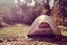 Camp / Whether you're planning a week long excursion or a weekend getaway these are camping tips, tricks and hacks we deem important for your trip!