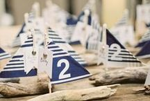 Nautical Wedding Crafts / Are you looking for some beach wedding ideas? Take your wedding in a more nautical direction! These nautical crafts and nautical decor ideas make for a classy DIY wedding.