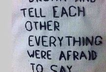 Written on clothes