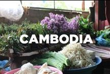 Cambodia / Travel inspiration board for Cambodia. Travel off the eaten path with us at www.travelingspoon.com