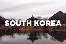 South Korea / Travel inspiration board for South Korea. Travel off the eaten path with us at www.travelingspoon.com