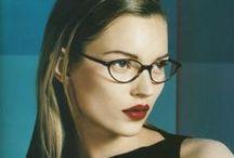 Vintage eyewear advertising / audaxeyewear.etsy.com