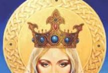 Lady of Avalon  ♥ / Morgaine, Vivian, witches, wicca, pagan, nature and other magical things