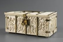 Medieval boxes and chests