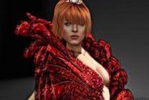 Virtual Fashion, people and places / Moda y lugares de mundos virtuales como Second Life, Videogames o Sims