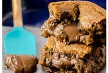 Cookies & Bars & Brownies, oh my! / Finger-friendly sweets - cookies, bars, and brownies - to eat and share.