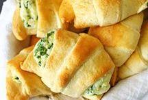 Bread Basket / Bread, rolls, pretzel, and more.  Pass the carbs!