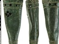 Medieval scabbard chapes