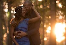 African American Engagement Shoot Ideas!! / Best engagement shoot and save the date ideas for African American brides!!!!