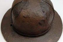 Medieval iron hats