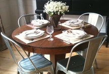 Home: Dining Room / Inspiration and ideas for our Dining Room / by Laura Machado