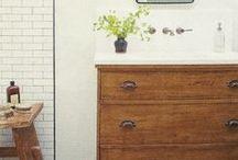 Home: Bathroom / Inspiration and ideas for our bathroom / by Laura Machado