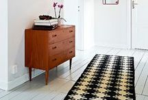 Home: Hallway / Inspiration for our stair hallway. / by Laura Machado
