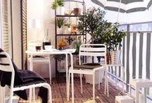 Home: Outside / Outdoors inspiration for our small condo yard. / by Laura Machado
