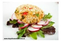 Healthy Living & Vegetarian Recipes / We have a great selection of healthy &meat free recipes on the SAHM website - check them out!