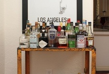 Home: Bar & Drinks / Inspiration/Organization/Ideas for Home Bar Oh and drink recipes! / by Laura Machado