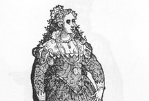 1550s Red Venetian dress / Collection of images related to making my 1550s red brocade Venetian dress