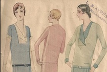 1920s for The Boyfriend / Inspiration images for costumes