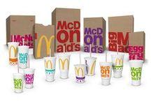 Fast Food Packaging / Fast Food, as shown in it's Packaging